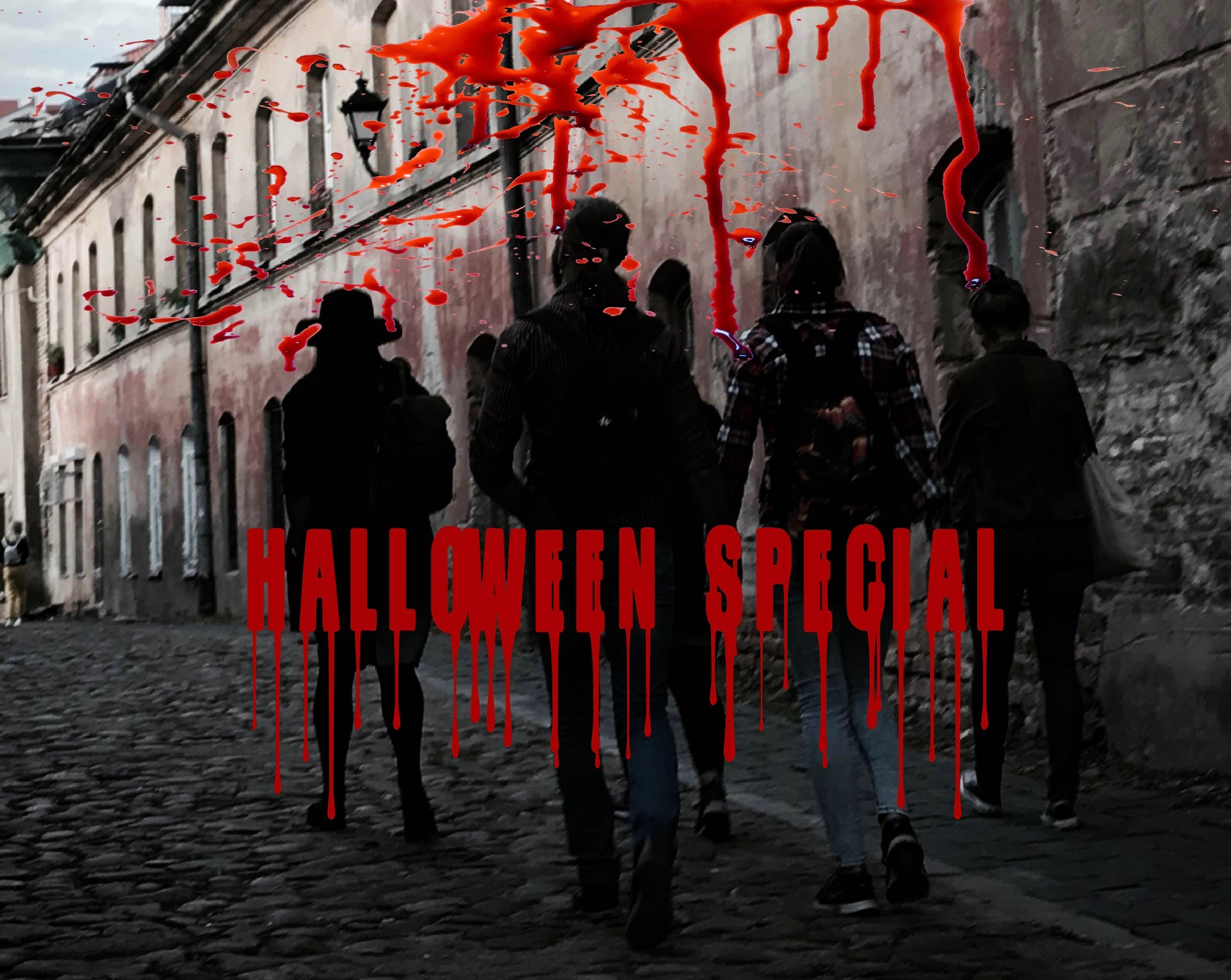 A Halloween special ghost tour in Vilnius