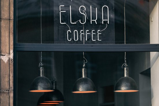 Elska coffee cafe in Vilnius