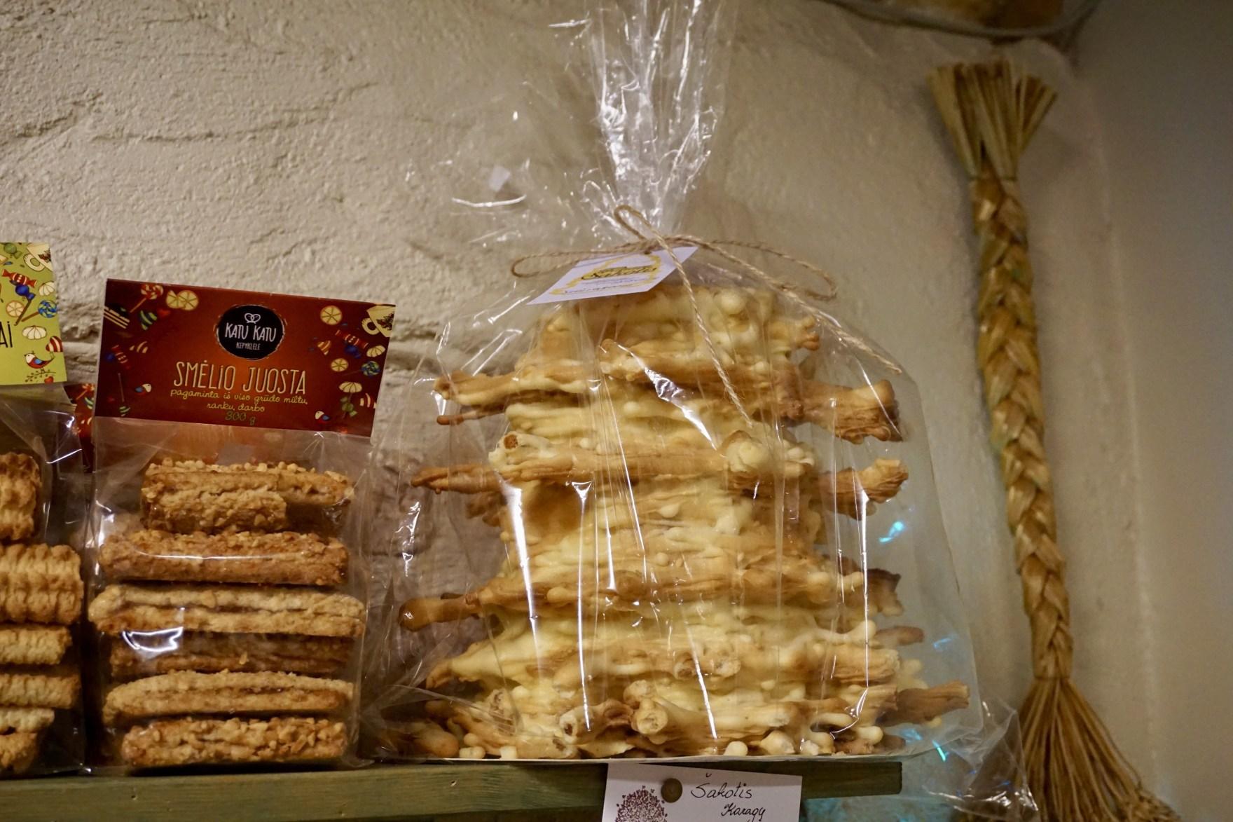 Food souvenirs from Lithuania - Sakotis