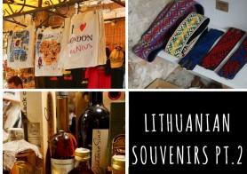 Souvenir shops in Vilnius