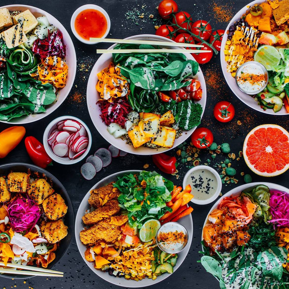 The best place for Buddha Bowls in Vilnius - BOLA