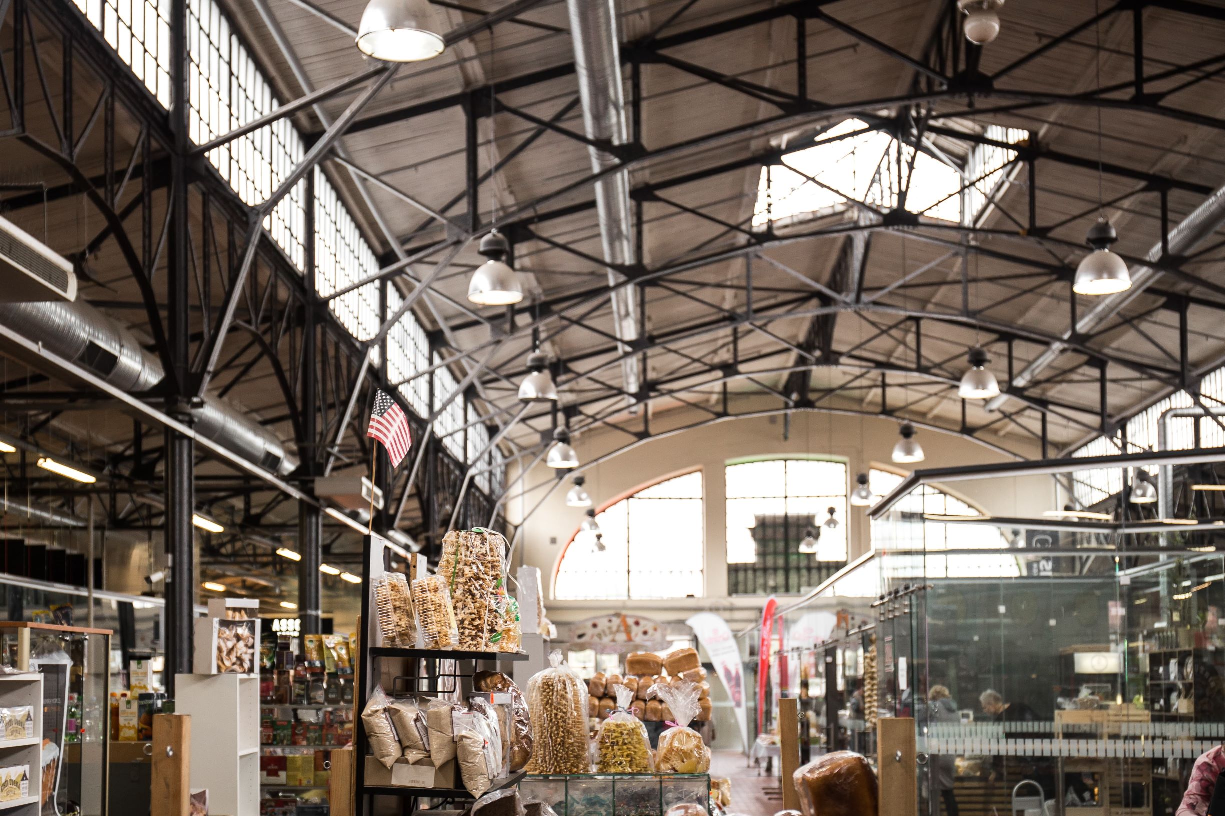 One of the best local markets in Vilnius - Hales Market