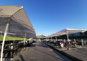 Things to do in Vilnius in summer: Outdoor cafes and summer terraces