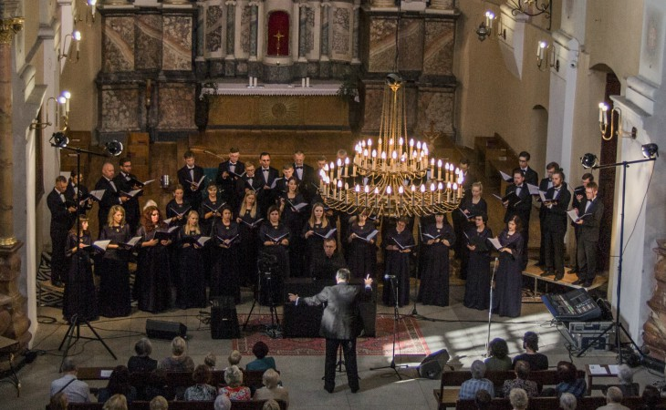Choir at St. James festival