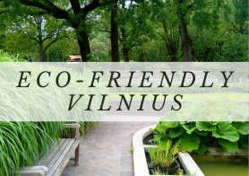 Eco-friendly Vilnius
