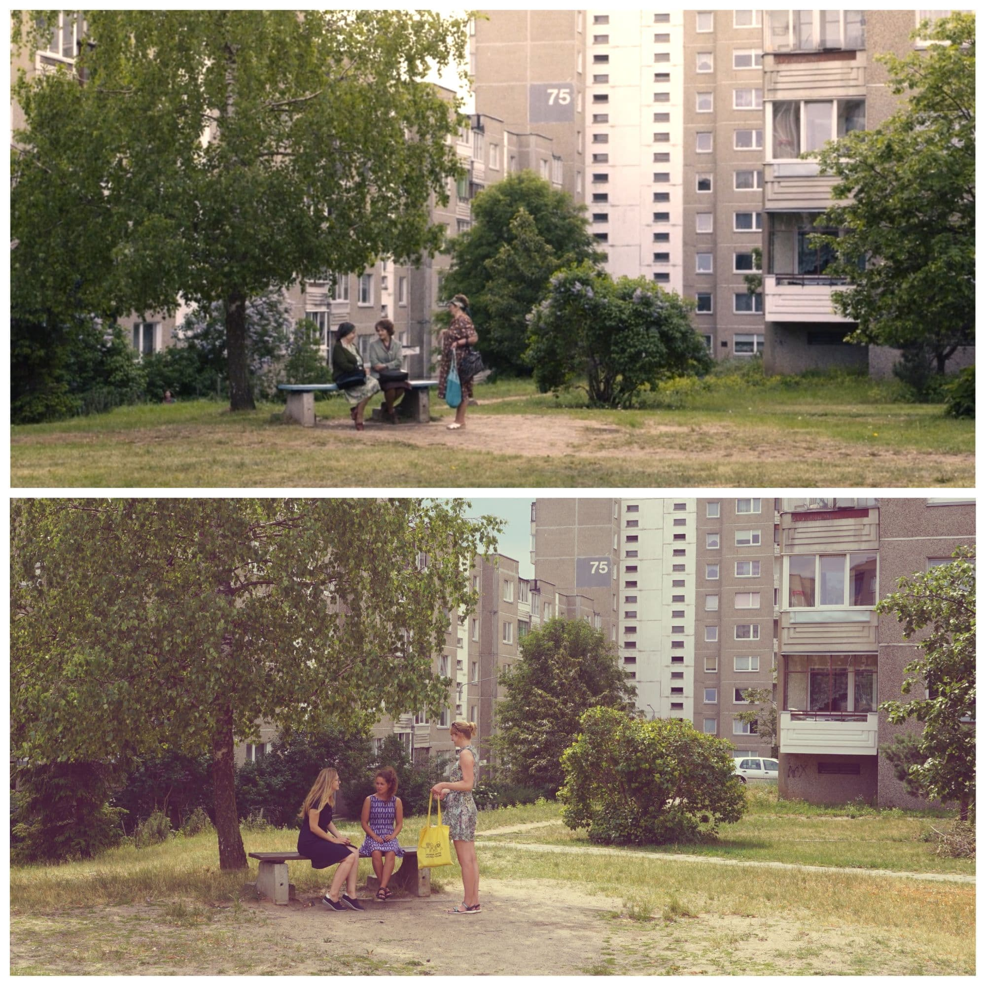 One of Chernobyl miniseries filming locations in Vilnius
