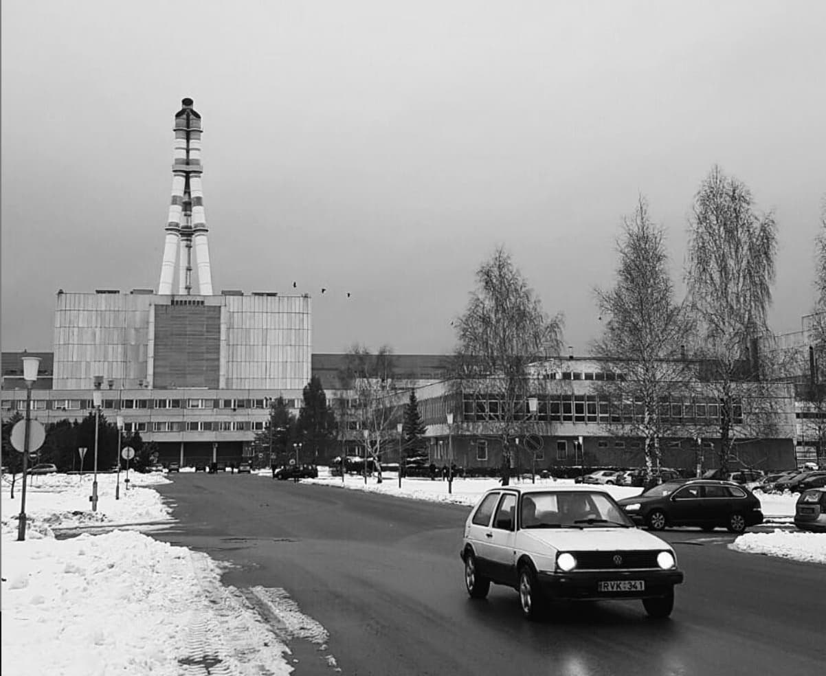 RBMK Nuclear Power Plant in Lithuania