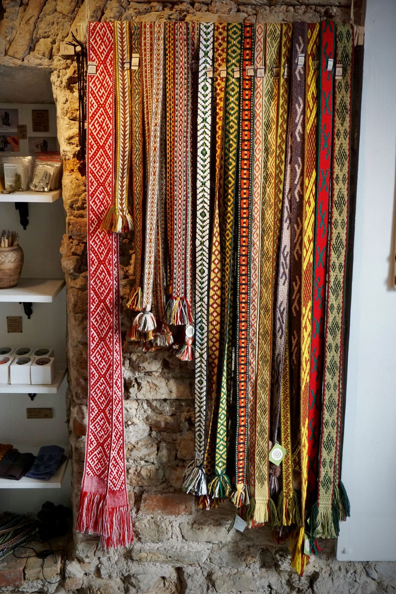 Lithuanian Sashes - souvenirs from Lithuania