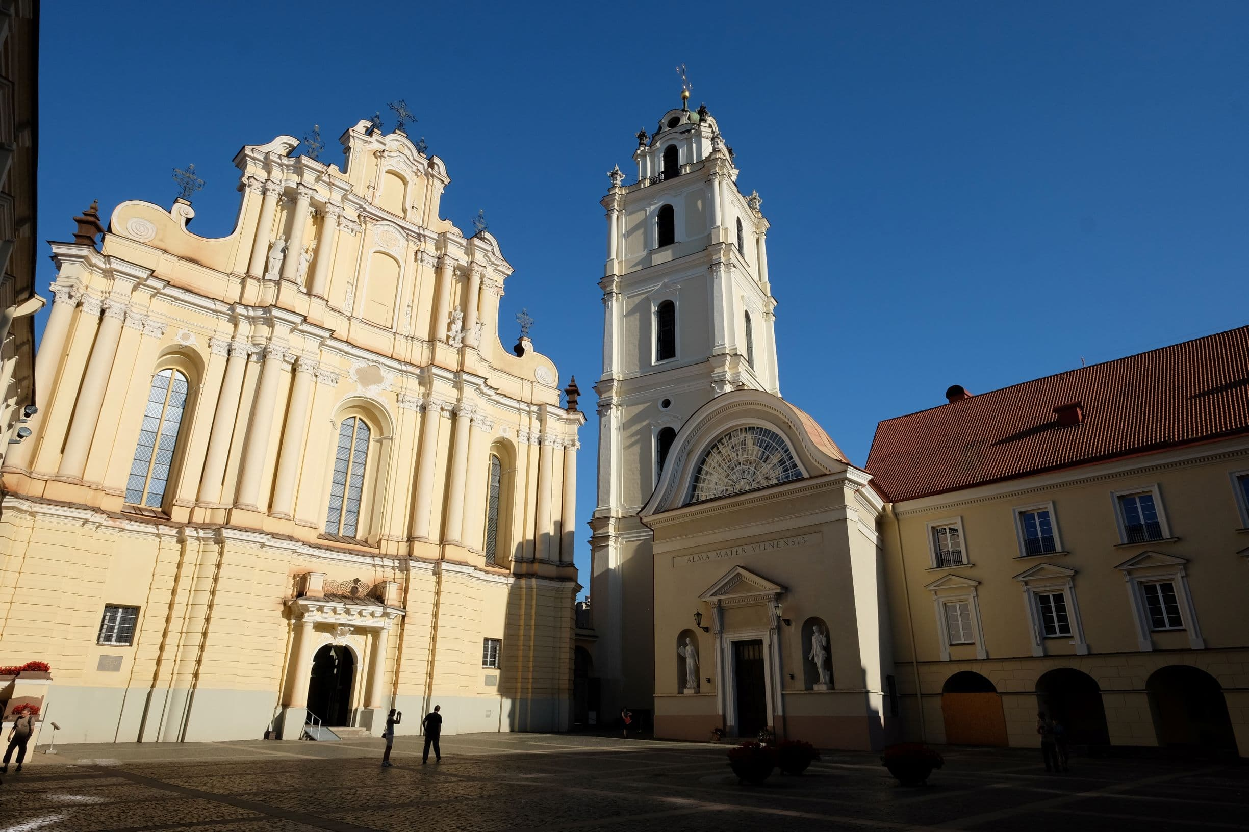 Sts. Johns' church belltower is great for a panoramic view of Vilnius Old Town