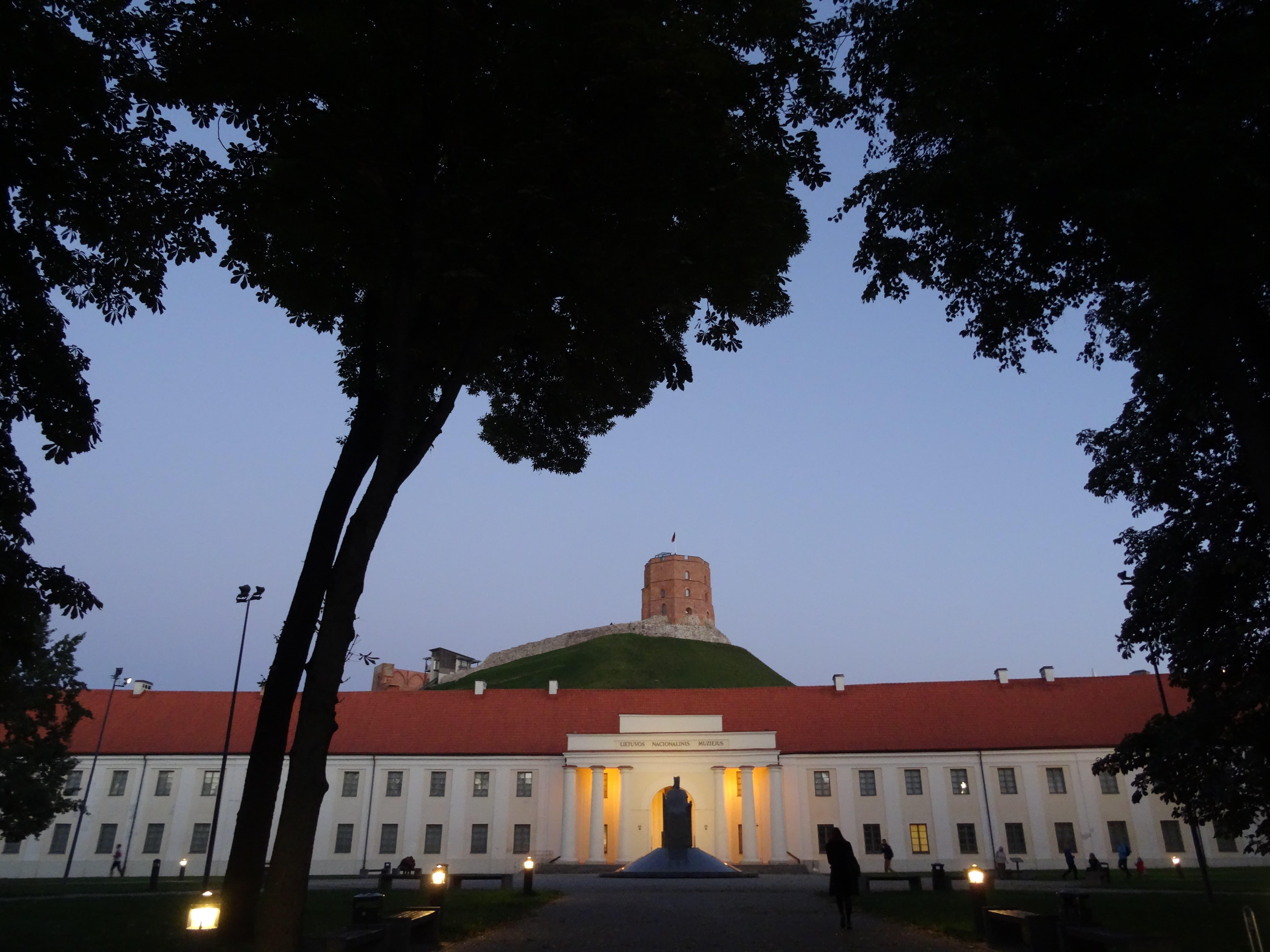 Summer evening in Vilnius