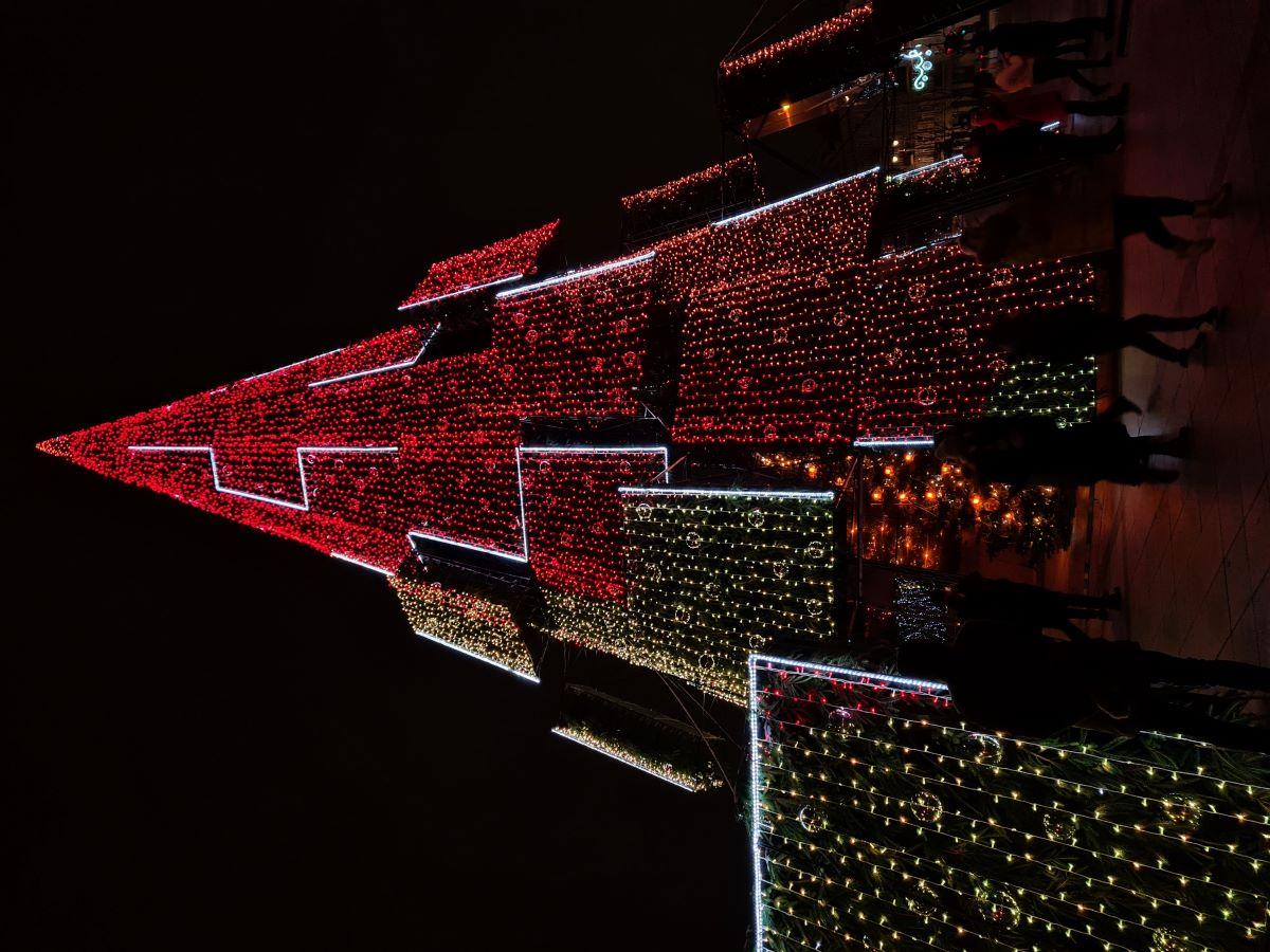 Surreal Vilnius Christmas Tree 2020