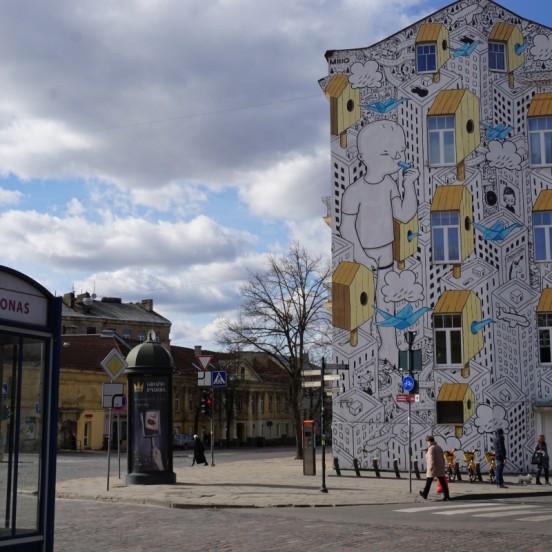 Free Alternative Vilnius tour