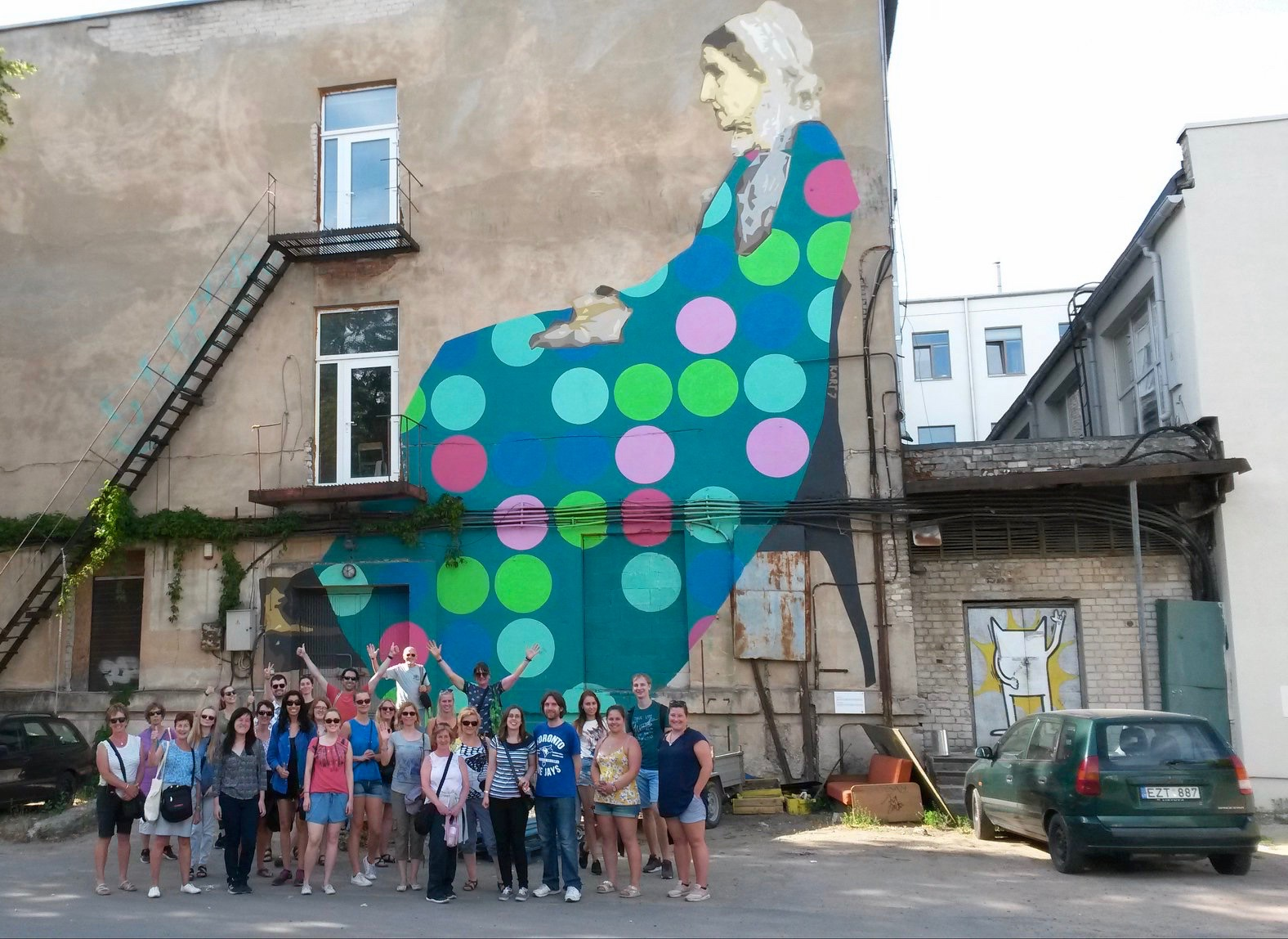 Vilnius street art in Open Gallery