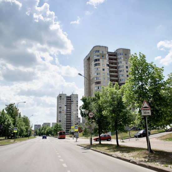 Fabijoniskes neighborhood in Vilnius on Chernobyl Filming Locations Tour