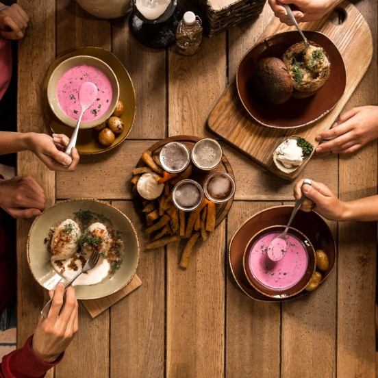 Traditional Lithuanian Dishes on Vilnius Food Tour