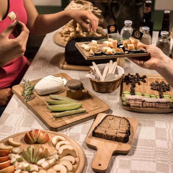 Locals Snacks on Vilnius Food Tour