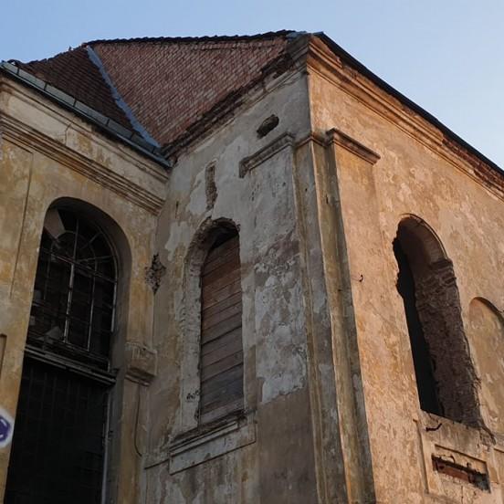 Abandoned monastery on Vilnius Ghost tour