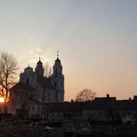 Vilnius ghost tour in the evening