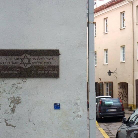 Jewish heritage in Vilnius