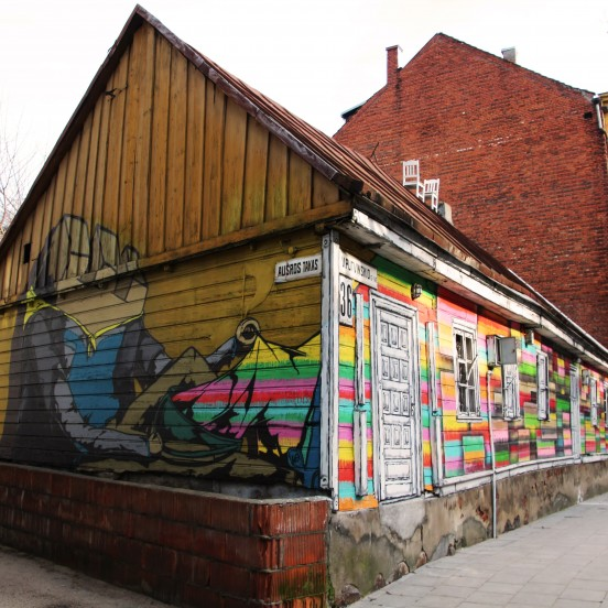 Kaunas free tour, welcome to Putvinskio street