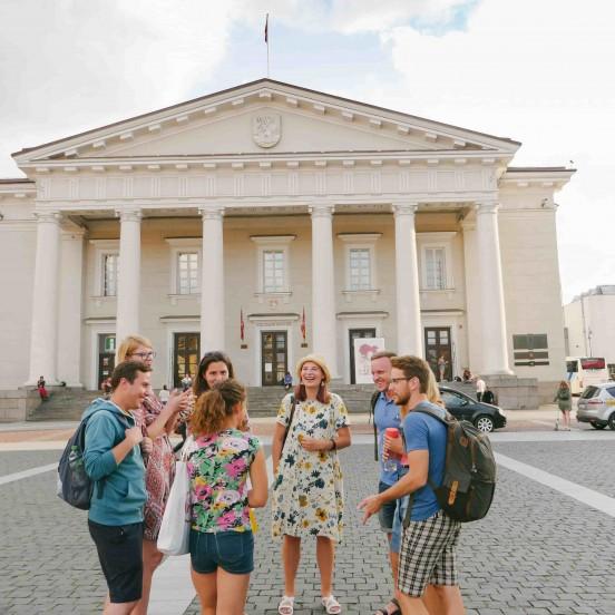 Vilnius Free Walking Tour  (Old Town & Užupis)
