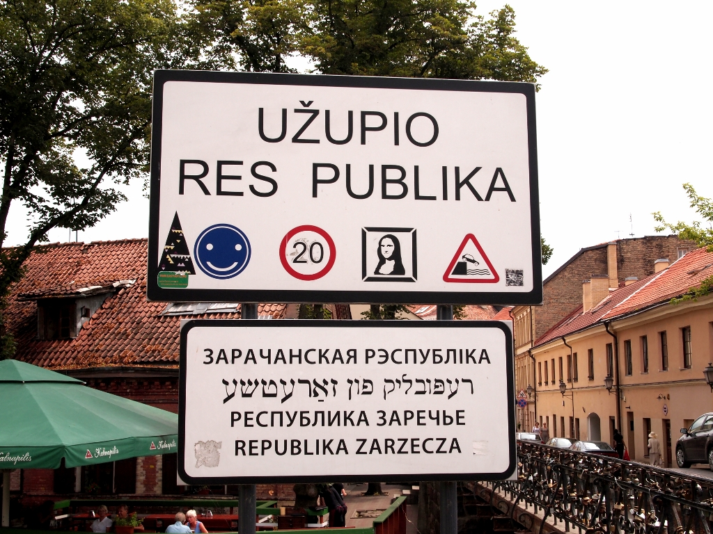 The sign of Uzupis