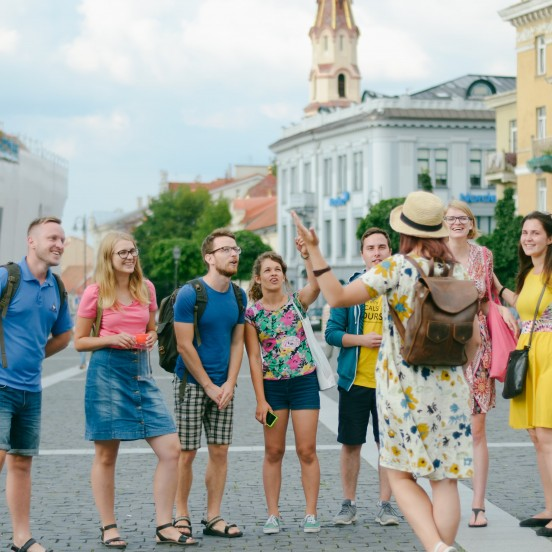 Private Vilnius City Tour in Vilnius Old Town