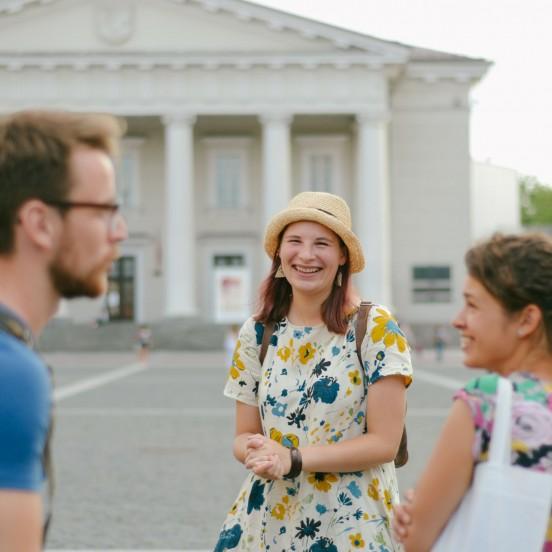 Visiting Vilnius Town Hall on a Private Vilnius City Tour